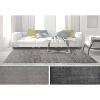 Nicole Miller Home Dynamix Synergy Solid Area Rug Shag (7'9 x 10'2)