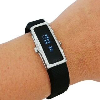 The Protective FRAME COVER for Fitbit Alta/Alta HR in Matte Silver