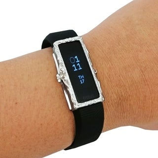 The Protective FRAME COVER for Fitbit Alta/Alta HR in Silver