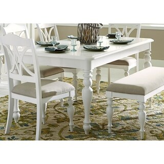 Summer House Oyster White 6-piece Rectangular Table Dining Set