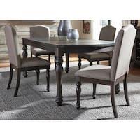 Liberty Catawba Hills Peppercorn and Khaki 5-piece Rectangular Table Set