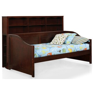 Furniture of America Clairen Cottage Style 2-piece Twin Daybed and Bookcase Set
