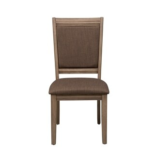 Sun Valley Sandstone and Grey Upholstered Side Chair