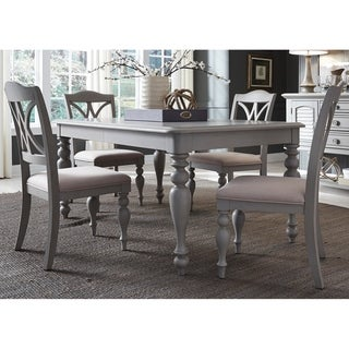 Summer House Dove Grey Rectangular 5-piece Table Set