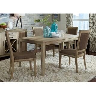 The Gray Barn Broken Spur Sandstone 5-piece Rectangular Table Set