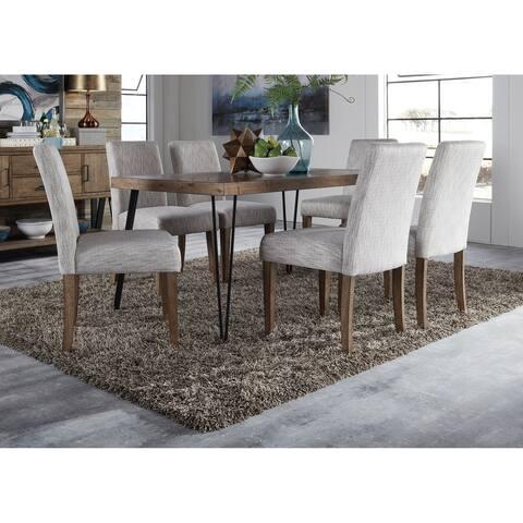 Horizons Rustic Caramel 7-piece Rectangular Table Set