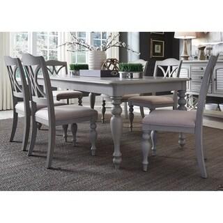 Summer House Dove Grey 7-piece Rectangular Table Set