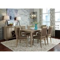 Sun Valley Sandstone 7-piece Rectangular Table Set