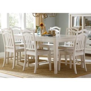 Summer Hills Rubbed Linen 7-piece Rectangular Table Set