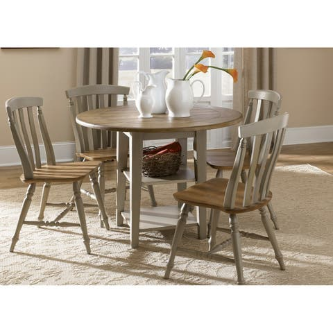 Liberty Al Fresco Taupe 5-piece Drop Leaf Set