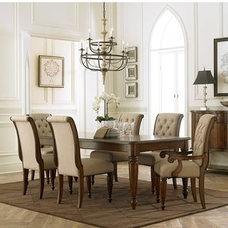 Cotswold Cinnamon 7 Piece Rectangular Dining Table Set