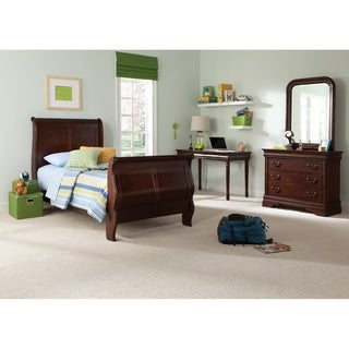 Cherry Louis Phillippe Sleigh Bed