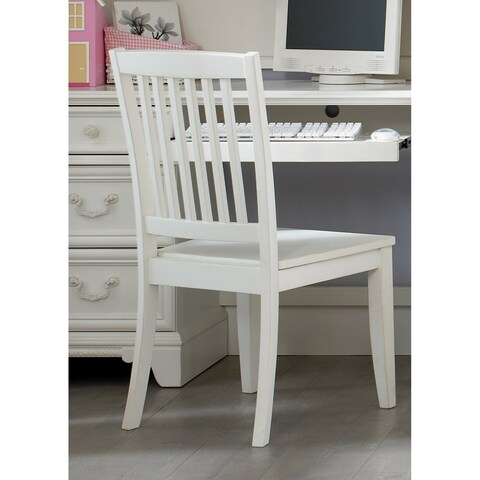 Arielle Antique White Student Desk Chair