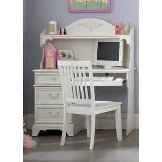 Arielle Antique White Student Desk Chair