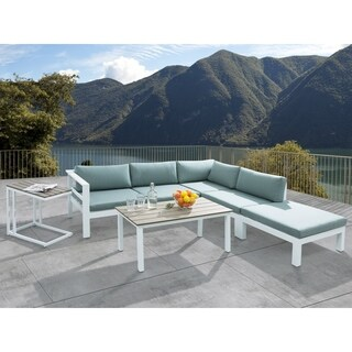 Aluminum Patio Lounge Set MESSINA