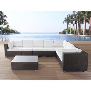 Patio Lounge Set - Brown Wicker GRANDE