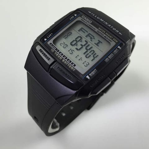 Casio Men's Multilingual Databank Watch