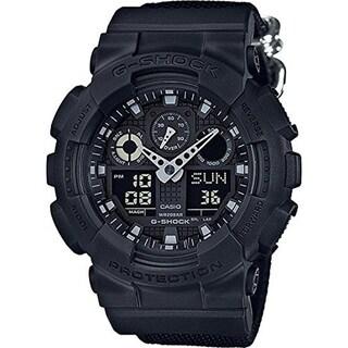 Casio Men's G-Shock Monotone Black Condura Series Watch GA100BBN-1A