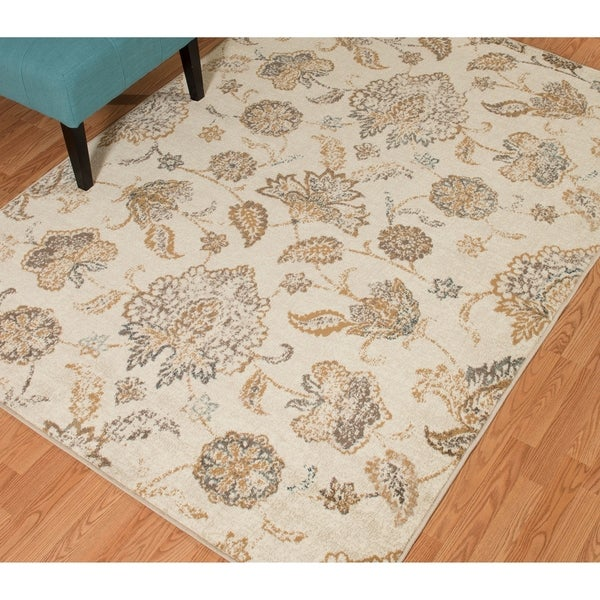 Westfield Home Sphinx Odessa Cream Area Rug - 12' x 15'