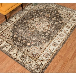 Westfield Home Sphinx Rio Taupe Area Rug (5'3 x 7'2)
