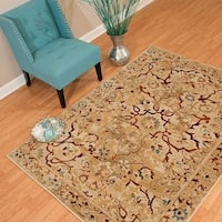 "Westfield Home Sphinx Edina Taupe Runner Rug - 1'10"" x 7'3"""