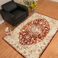 Westfield Home Sphinx Wyatt Crimson Accent Rug - 1'10 x 3'1