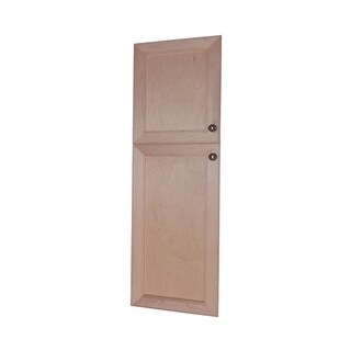 Village BCK Recessed 18 in Top in the Wall Frameless Pantry Medicine Cabinet Door