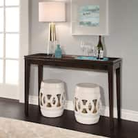 Abbyson Moroccan White Garden Stool (Set of 2)
