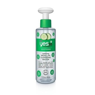 Yes To Cucumbers Soothing Calming Micellar 7.77-ounce Cleansing Water