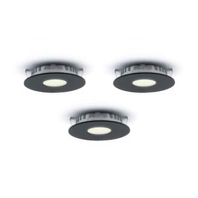 Set of 3 LED Super Puck Recessed Lights