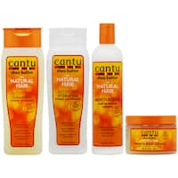 Cantu Cleansing Shampoo, Conditioner, Curl Activator, Define & Shine Custard