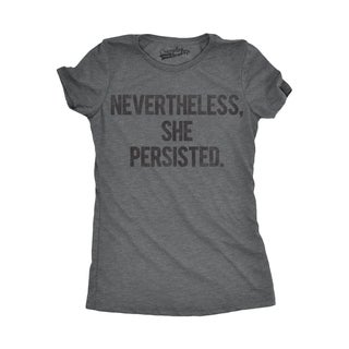 Womens Nevertheless She Persisted T-shirt