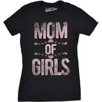 Womens Mom of Girls Tee