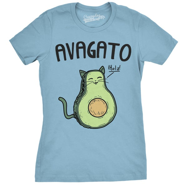 Shop Womens Avogato Funny T shirt - On Sale - Free ...