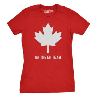 Womens Eh Team Canada T shirt (5 options available)