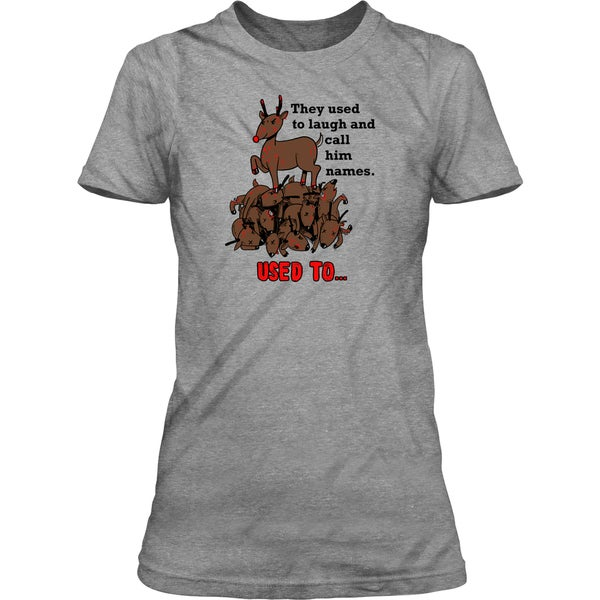 I Love Heart Antelope Ladies T-Shirt
