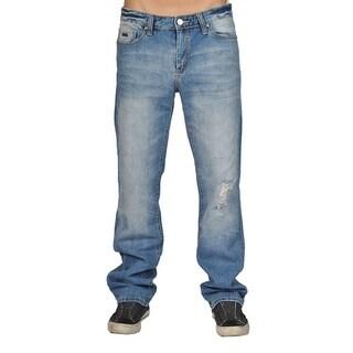 Black Jeans NYC Ripead Blue Straight Jeans