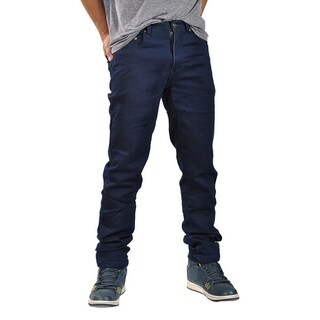 Dirty Robbers Mens Fashion Slim Fit Jeans Navy