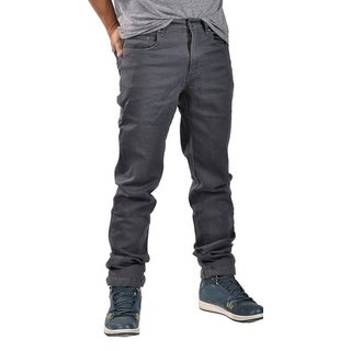 Dirty Robbers Mens Fashion Slim Fit Jeans Gray