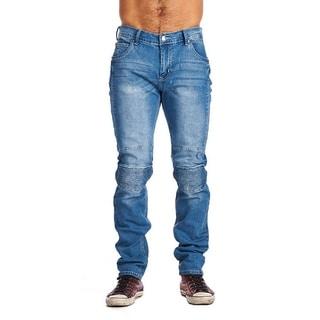 One Tough Brand Men's Motto Fashion Denim Jeans Light Blue