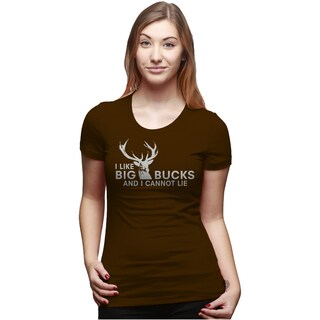 Womens I Like Big Bucks and I Cannot Lie T shirt