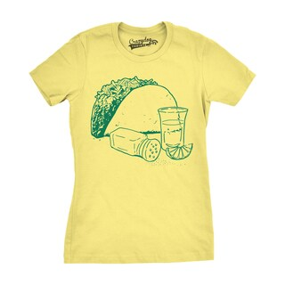 Womens Taco and Tequila T shirt