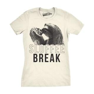 Womens Sloffee Break T shirt