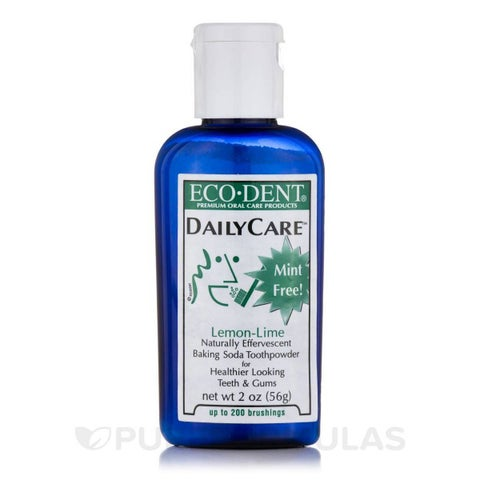 Eco-Dent 2-ounce Toothpowder Daily Care Lemon Lime