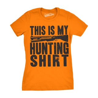 Womens This Is My Hunting Shirt