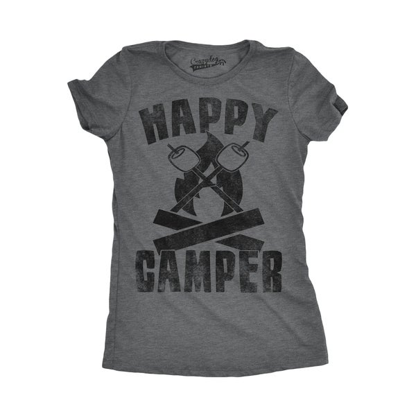 Womens Happy Camper Shirt