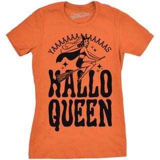 Womens HalloQueen T shirt