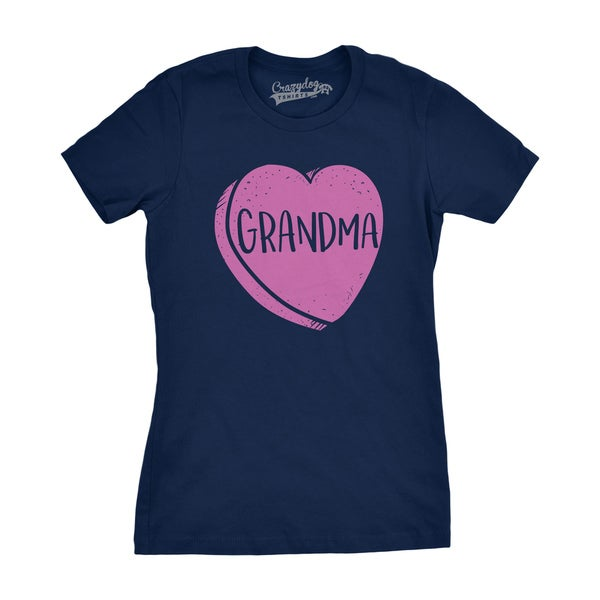 35e17149657d6 Womens Grandmas Candy Heart Valentines Day Tee