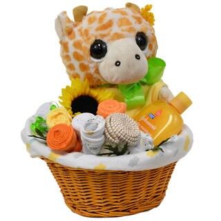 Baby Giraffe Gift Basket