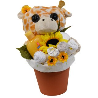 Baby Giraffe Flower Pot